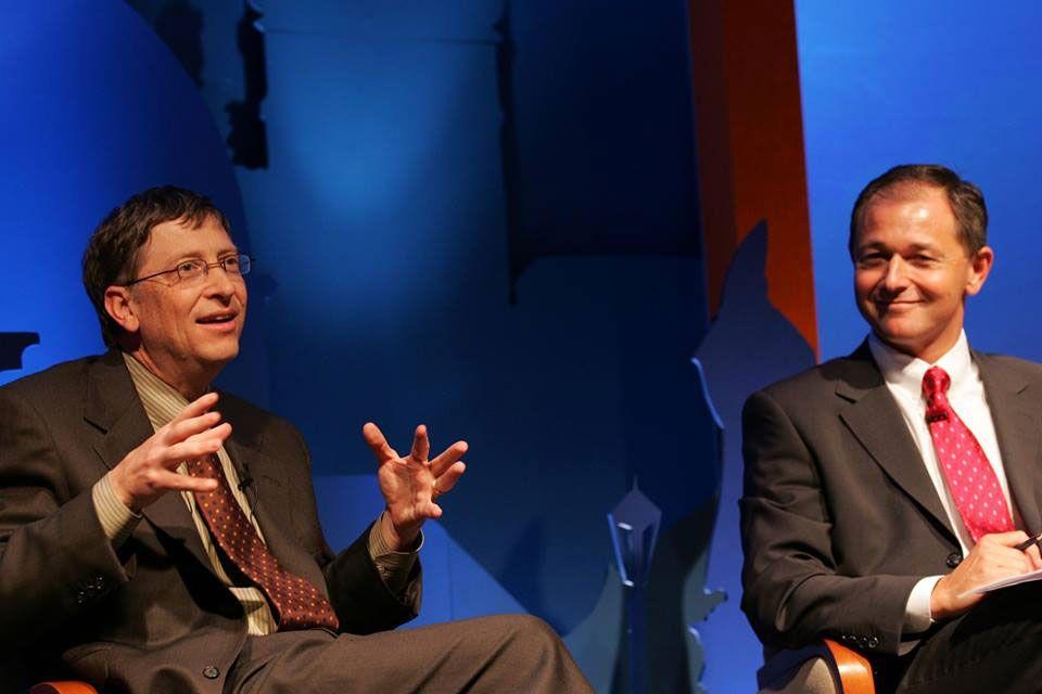 Bill Gates aJan Mühlfeit